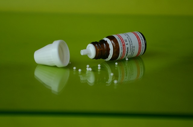 Homeopatika a lahvička