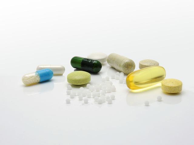 směs léků