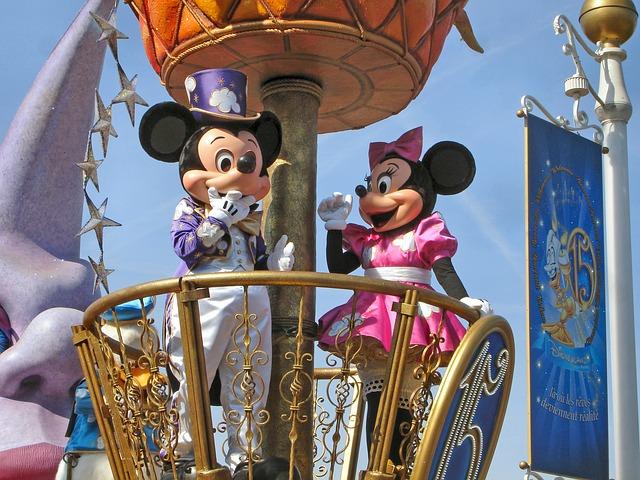 oblíbený Disneyland