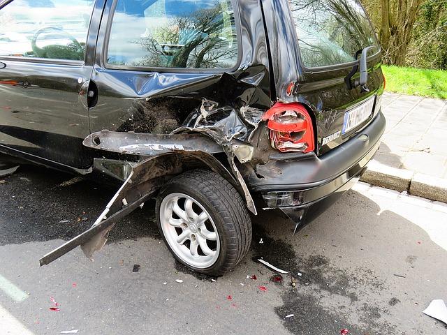 nabourané vozidlo