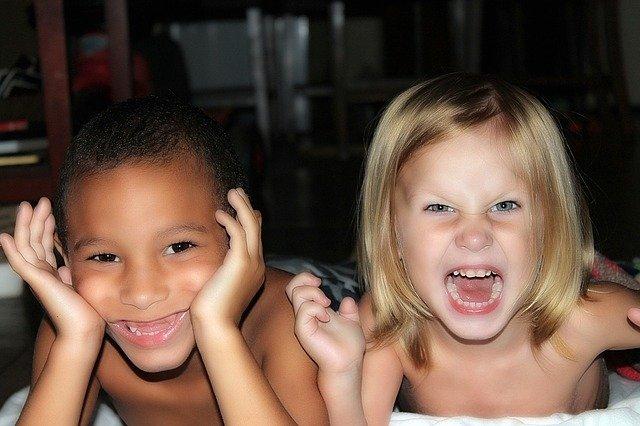 rozdivočelé děti