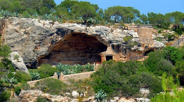 jeskyně na Malorce