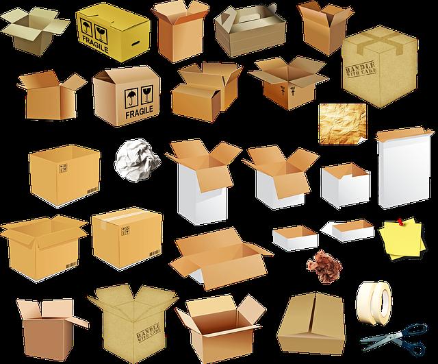 druhy krabic