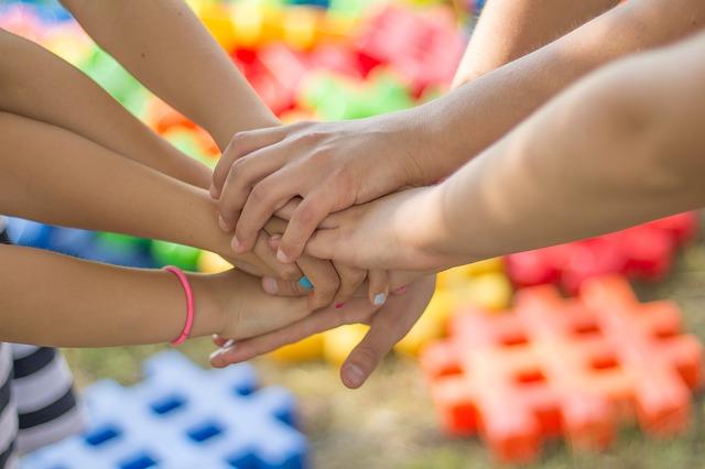 přátelství dětí