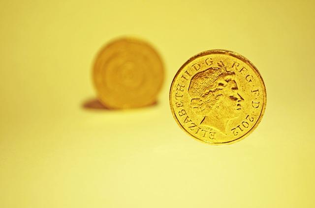 britská zlatá mince